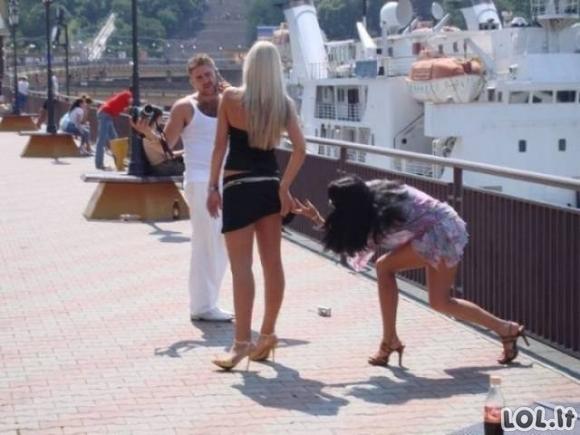 Crazy merginos (49 nuotraukos)