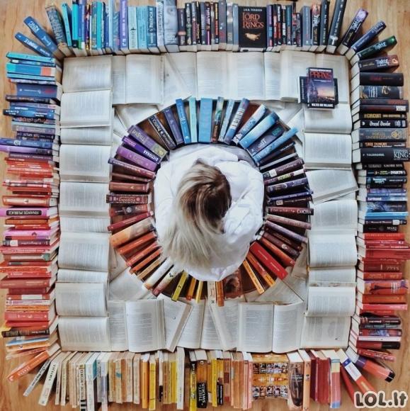 Kai knygas skaityti pasidaro nuobodu (30 nuotraukų)