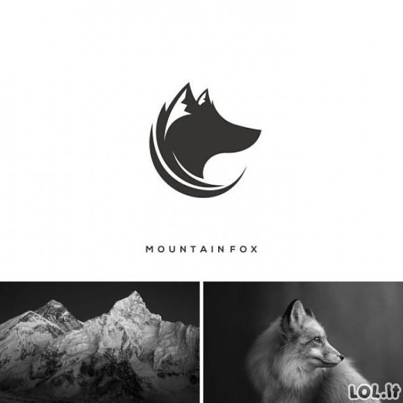 Labai kūrybingi logotipai (26 foto)