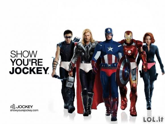 Jeigu įvairūs herojai dalyvautų reklamose (26 nuotraukos)