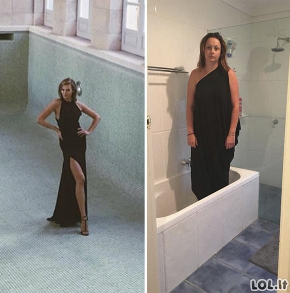 Mergina perkuria instagrame pamatytas nuotraukas savaip ir tai tampa interneto sensacija