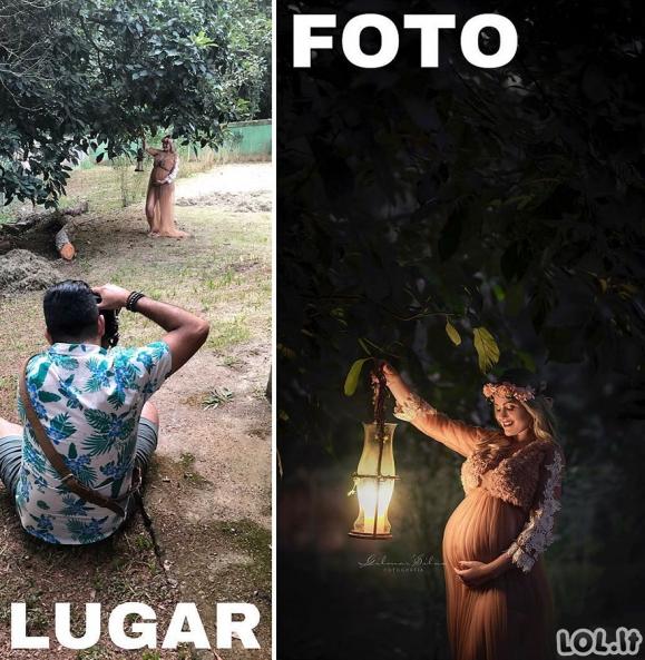 Nerealus fotografas eilinėse vietose sukuria įspūdingas nuotraukas