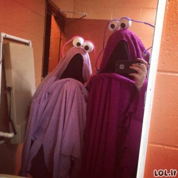 Dar 50 kietų Helovino kostiumų