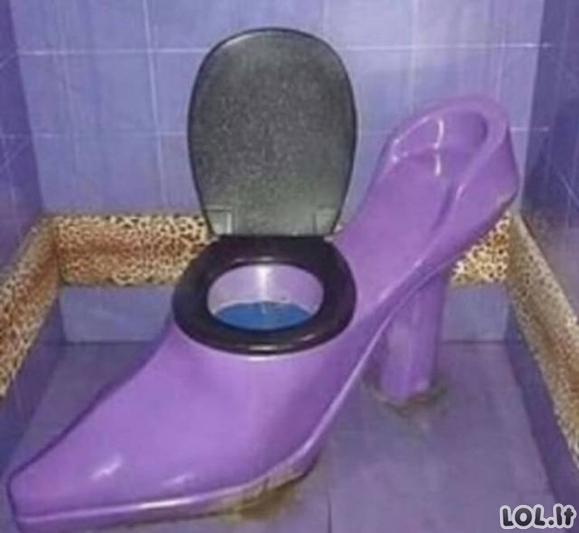 Šie tualetai užtikrins, jog ant jų praleisite tikrai mažai laiko [GALERIJA]