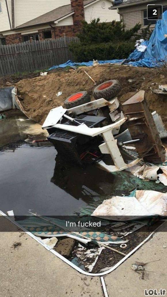 Sakote, jog turėjote blogą dieną? Pažiūrėkite į šiuos nelaimėlius [GALERIJA]