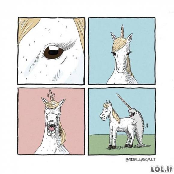 Juodojo humoro komiksai (28 paveikslėliai)