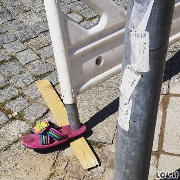 Tarp išradingumo ir kvailumo yra labai plona linija (20 paveikslėlių)