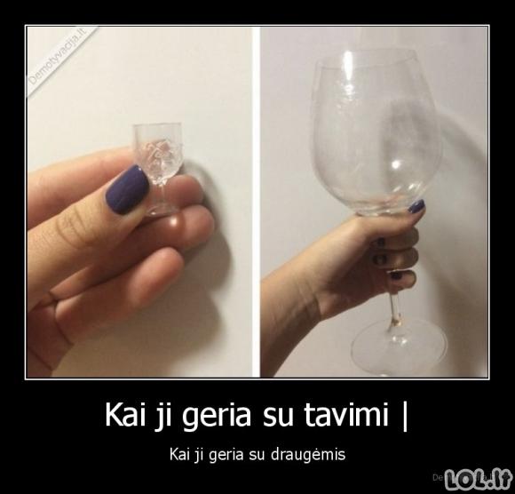 Kaip geria merginos