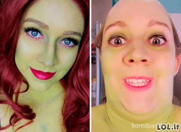 Kiekviena mergina turi du veidus (45 nuotraukos)