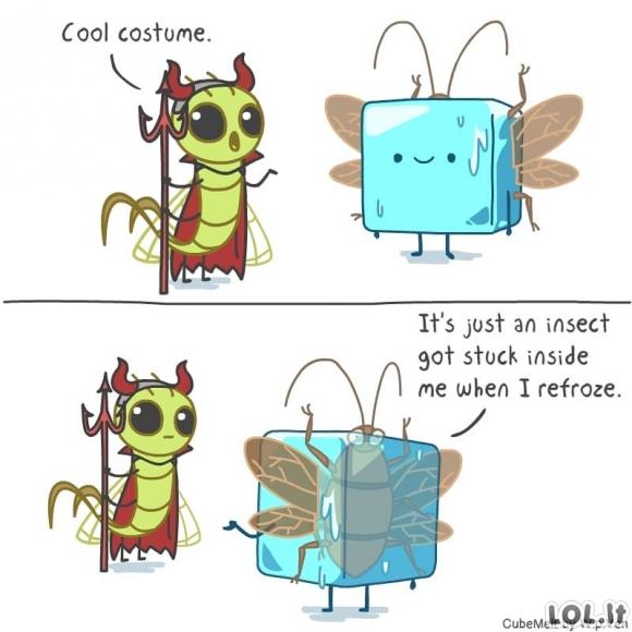 Smagus ledo kubelio gyvenimas (30 komiksų)