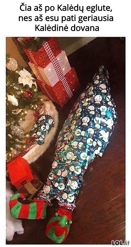 Pati geriausia Kalėdinė dovana