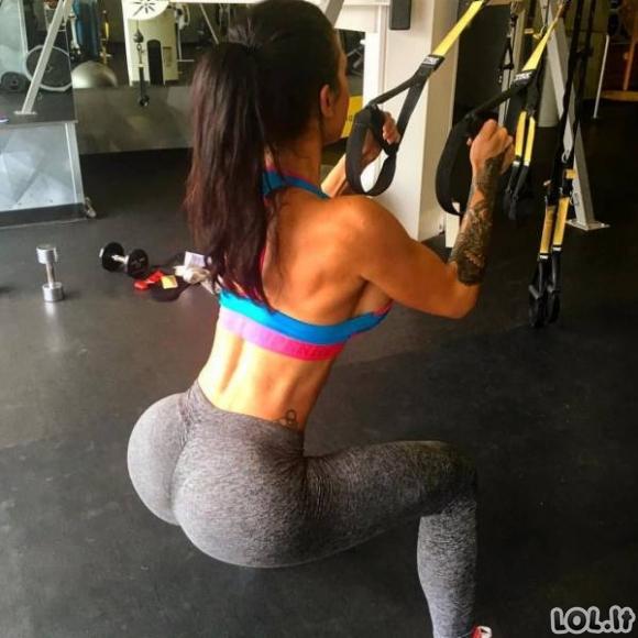 Žavios sportiškos merginos (54 foto)