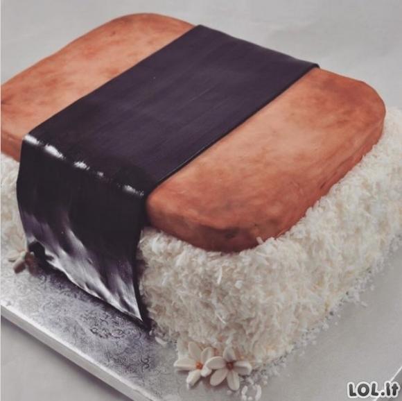 Šie tortai tikrai per daug šaunūs, kad juos valgytum [GALERIJA]