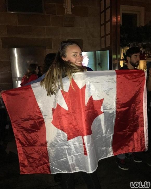 Tuo tarpu Kanadoje (50 nuotraukų)