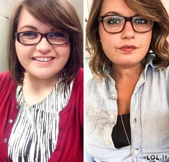 Žmonės, kurie nustebino pasaulį neįtikėtinais kūno pokyčiais [GALERIJA]