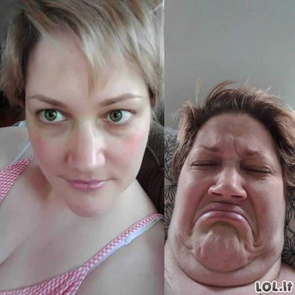 Niekada netikėkite merginų nuotraukomis socialiniuose tinkluose [GALERIJA]