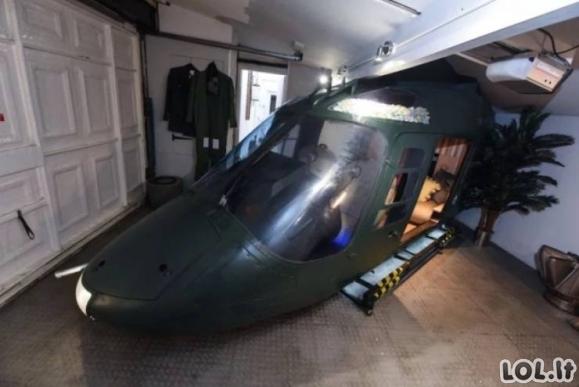 Namų kinas sraigtasparnyje [GALERIJA]