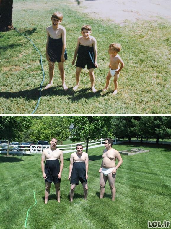 Nuotraukos, atkurtos iš vaikystės [GALERIJA]