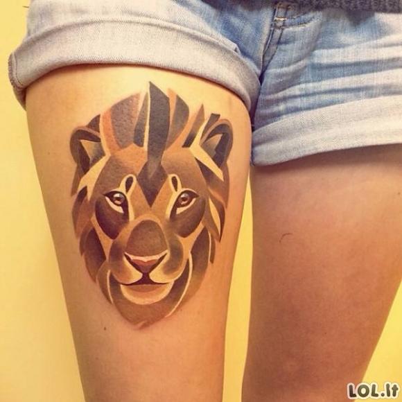 Tatuiruotės, kurios tikrai vertos tatuiruotės vardo [28 nuotraukos]