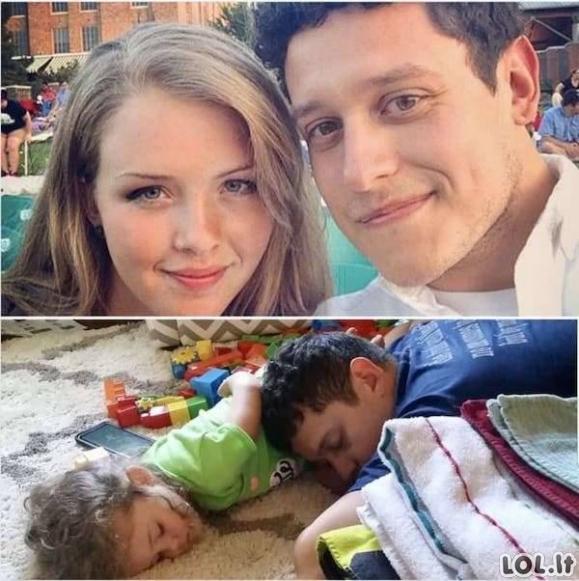 Kai porų gyvenime atsiranda vaikai [GALERIJA]