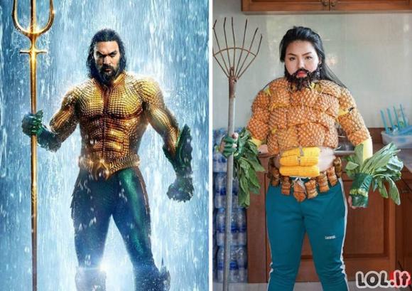 Juokingos Cosplay su maistu parodijos (30 paveikslėlių)