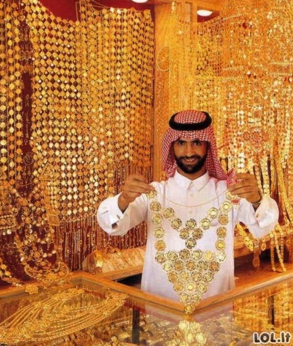 Nuotraukos iš Dubajaus milijardierių vaikų kasdienybės [GALERIJA]