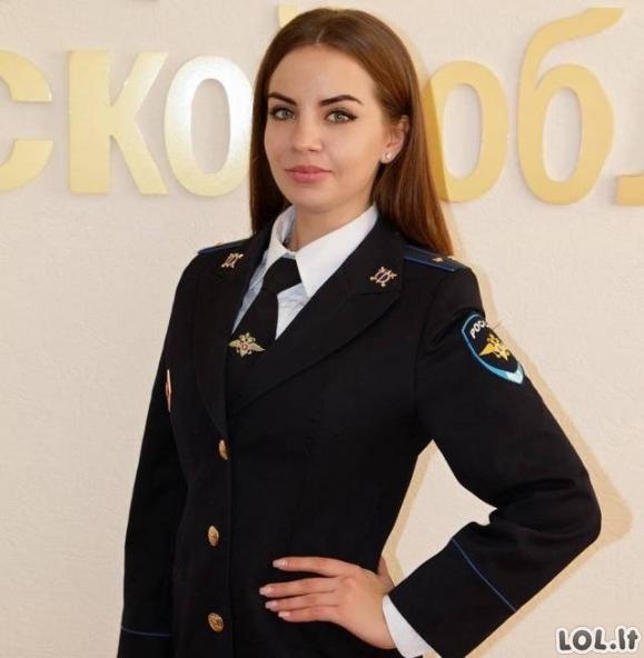Merginos, tarnaujančios kariuomenėje Rusijoje [30 nuotraukų]
