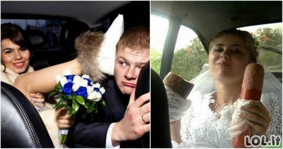 Vestuvių nuotraukos, kurių geriau niekam nerodyti [GALERIJA]