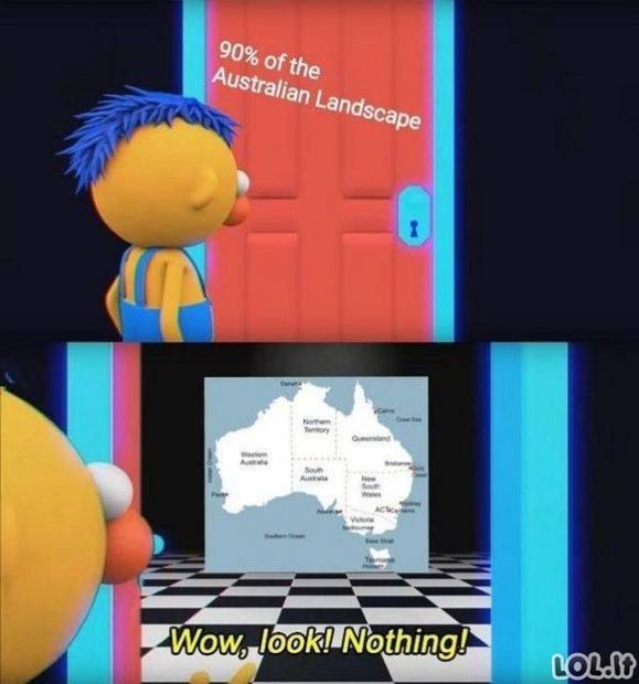 Ekskursinė kelionė į Australiją [GALERIJA]