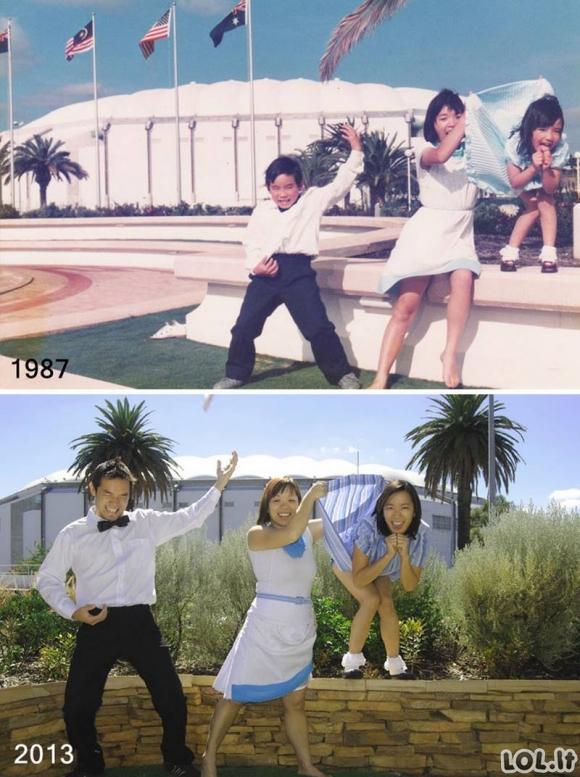 Genialios nuotraukos, atkurtos iš vaikystės [GALERIJA]