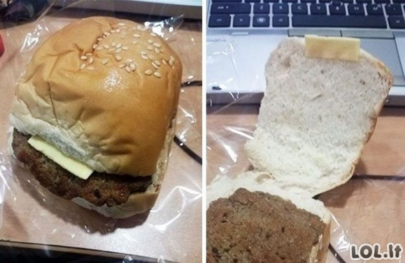 Žmonės, kurie nusivylė savo maistu [GALERIJA]