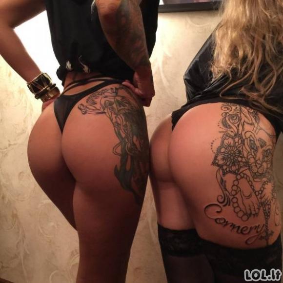 Karštos ir tatuiruotos merginos [GALERIJA]