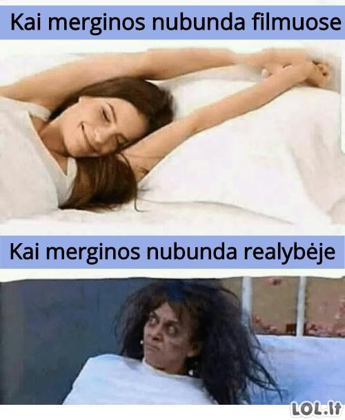 Merginų nubudimas