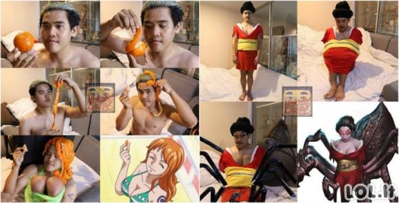 Biudžetinių kostiumų profesionalas iš Tailando ir jo menas [GALERIJA]