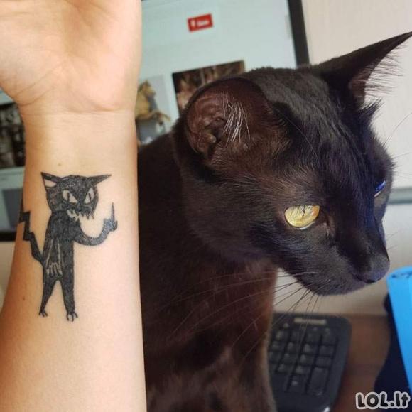 Visi renkasi šią tattoo meistrę dėl to, nes ji nemoka piešti [GALERIJA] [REIKIA ATNAUJINIMO]