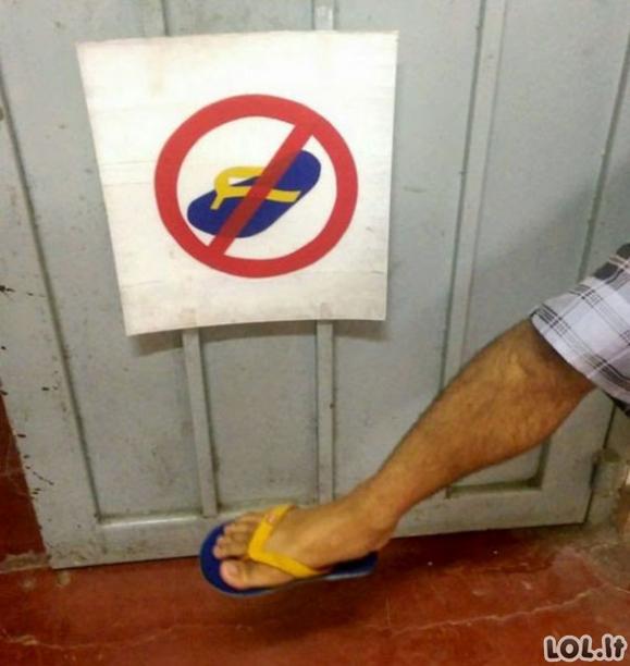 Žmonės, kuriems itin patinka laužyti taisykles [GALERIJA]
