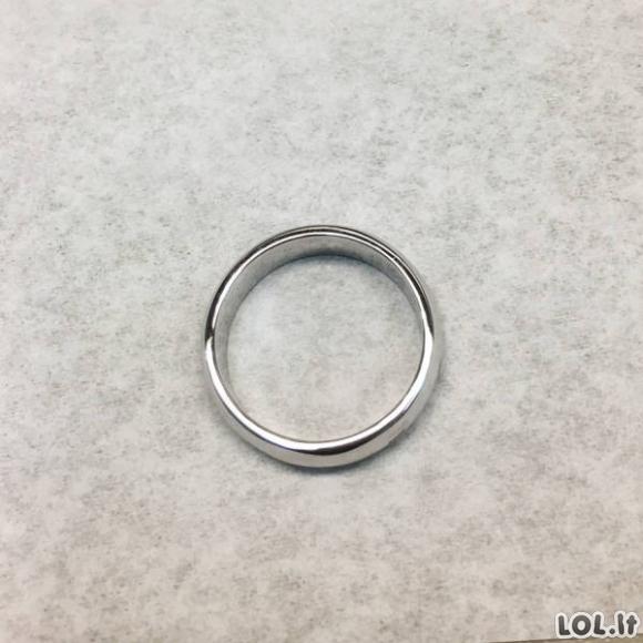 Visiškai sulankstyto žiedo restauracija [GALERIJA]