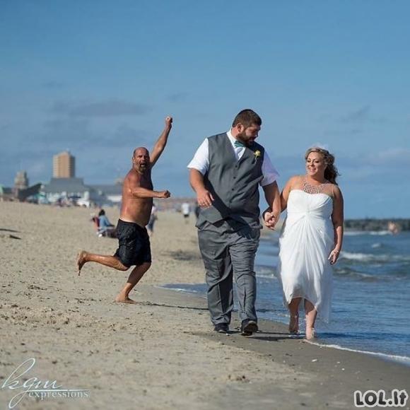 Vestuvinės nuotraukos kurios jus nustebins [GALERIJA]