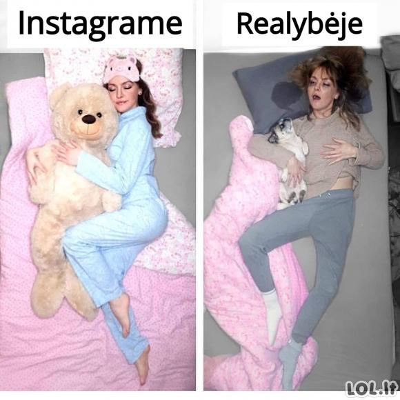 Gražios miegančios merginos nuotraukos