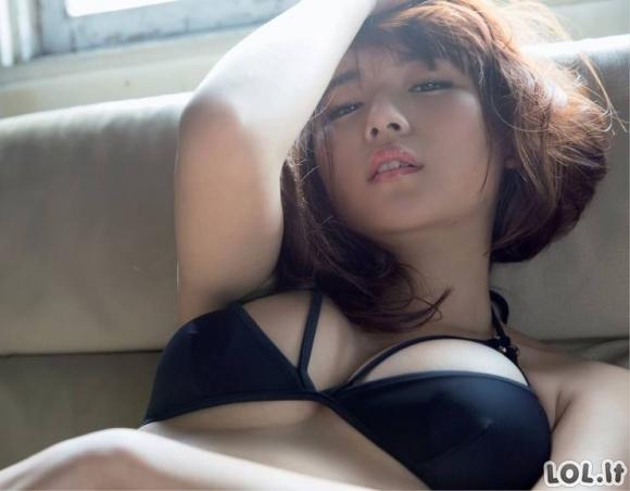Azijietės merginos turi savo unikalų grožį [MERGINŲ GALERIJA]