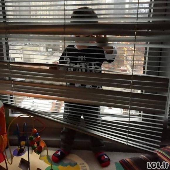 Kai su vaikais žaidi slėpynių [GALERIJA]
