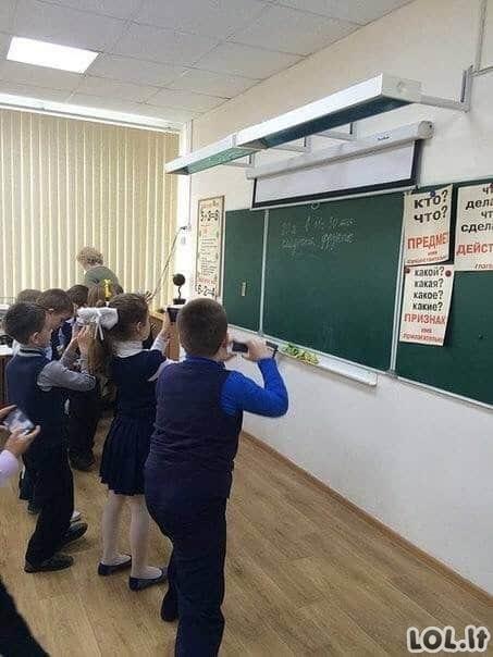 Kas vyksta šiuolaikinėse mokyklose