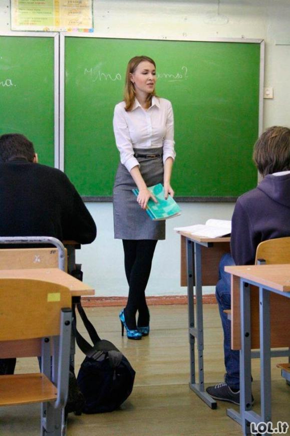 Mokytojos, dėl kurių niekas tikrai veltui nepraleidinės pamokų