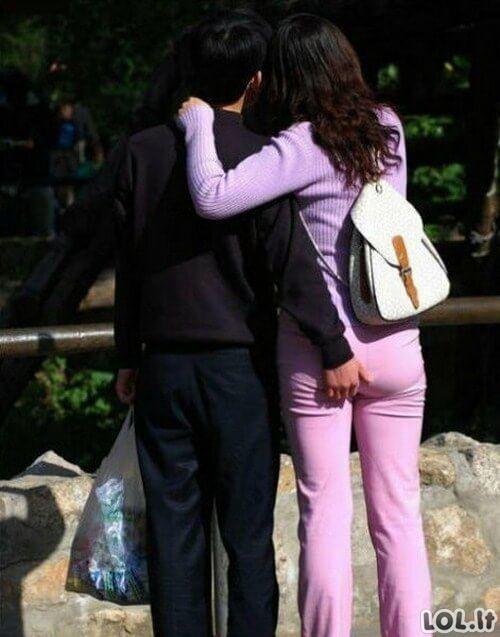 Poros, kurios tikėjosi, kad jų niekas nepastebės arba tiesiog buvo nusispjaut į aplinką [GALERIJA]