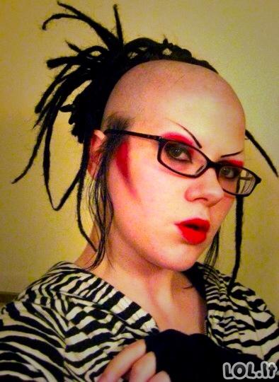 Originalios šukuosenos, kurios nustebina ir visko mačiusius kirpėjus [GALERIJA]
