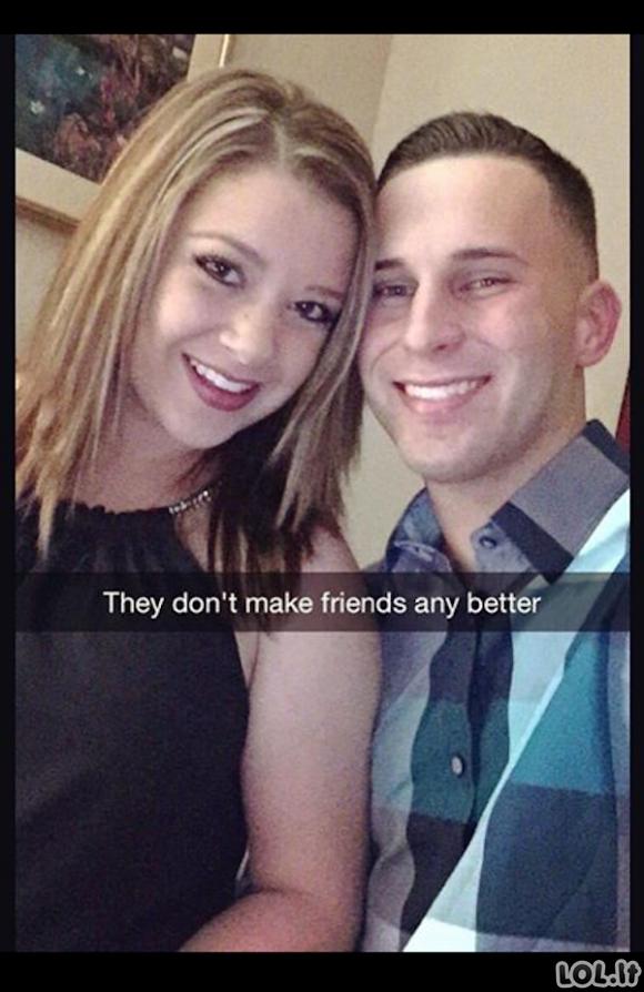 Kai vaikinas ir mergina patys geriausi draugai pasaulyje [GALERIJA]