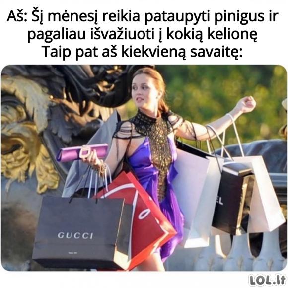 Kaip merginos taupo pinigus