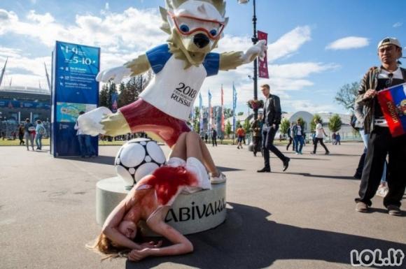 Rusijoje gyvena ypatingi žmonės ir vyksta ypatingi dalykai [GALERIJA]