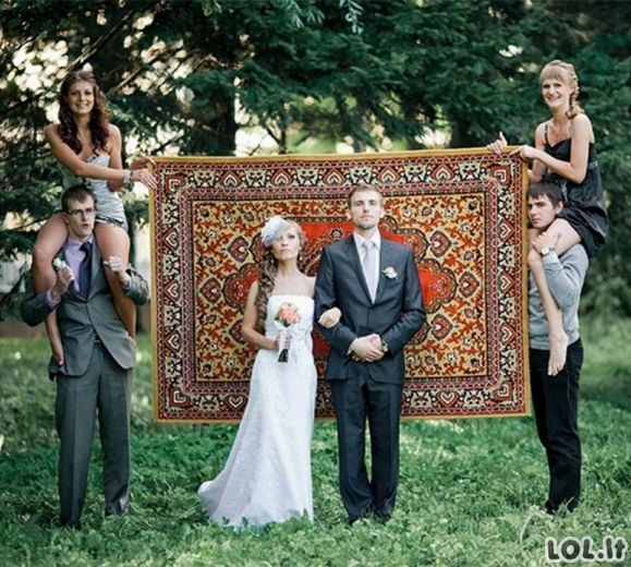 Kvailiausios vestuvinės nuotraukos, kurių geriau būtų nedėję į albumą [GALERIJA]