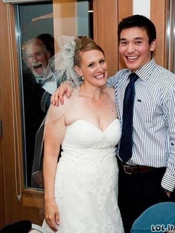 Linksmiausios vestuvinės akimirkos [GALERIJA]